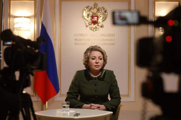 Матвиенко призвала Первый канал объяснить выбор песни для Евровидения