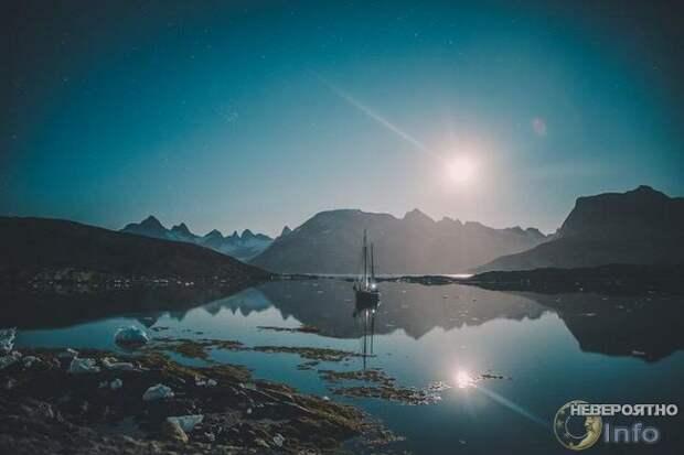 Под Гренландией течёт загадочная «темная река» длиной тысячу километров