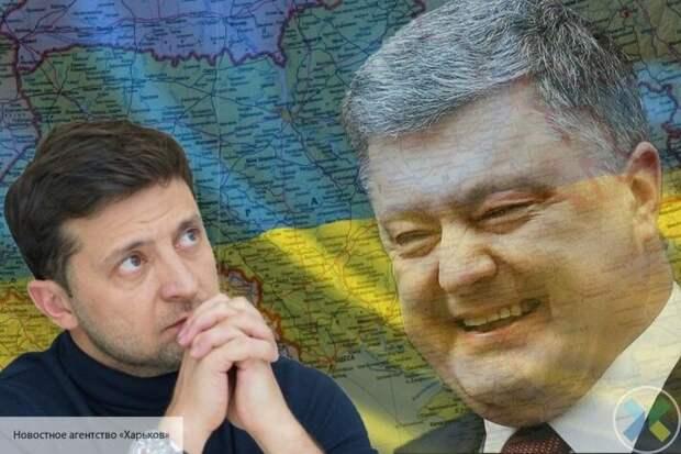 Компромат с пленками не сыграл: Зеленский не смог стереть с себя «налет» Порошенко