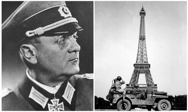Как генерал вермахта нарушил приказ Гитлера об уничтожении Эйфелевой башни