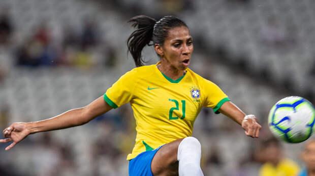 Российские футболистки проиграли команде Бразилии в контрольном матче