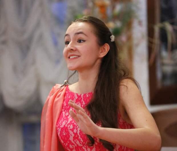 Юная вокалистка Валерия Кузнецова / Фото из личного архива