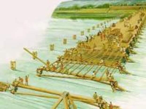 Существовал ли мост Цезаря?