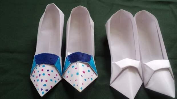Бумажные туфельки. В полночь исчезают. Фото: Youtube.com