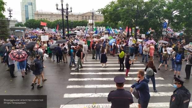 Митинги в Хабаровске привлекли проплаченных провокаторов из Биробиджана