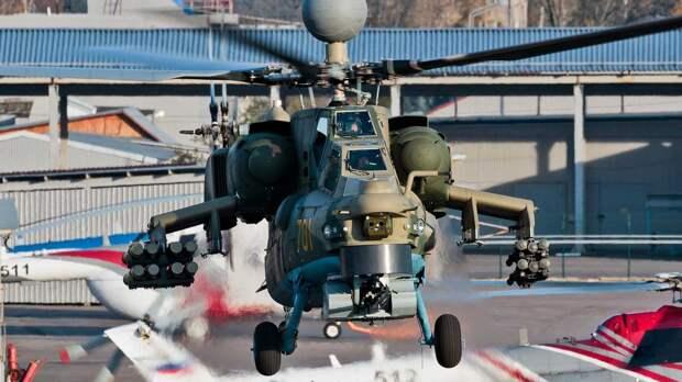 Российский боевой вертолет Ми-28НМ получил ракеты нового поколения