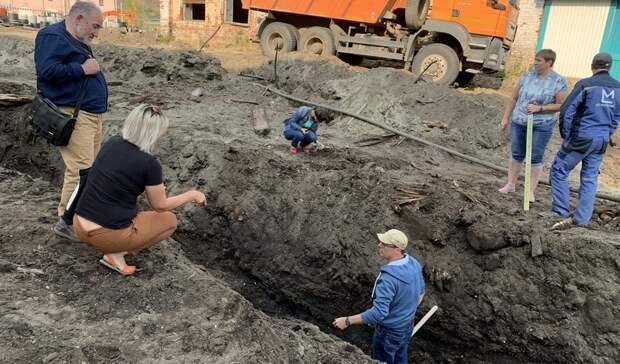 Строители уничтожили четыре века культурного слоя вТобольске