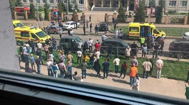 Устроивший бойню в казанской школе предстал перед судом