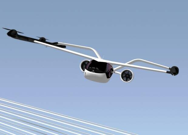 Volocopter представила аэротакси самолетного типа