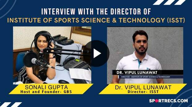 Sonali Gupta in conversation with Dr. Vipul Lunawat ( ISST Dir. ) Career in Sports Management in India | GBS