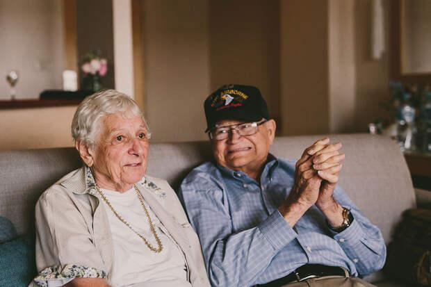 Ветеран войны нашел свою возлюбленную на другом конце света через 70 лет