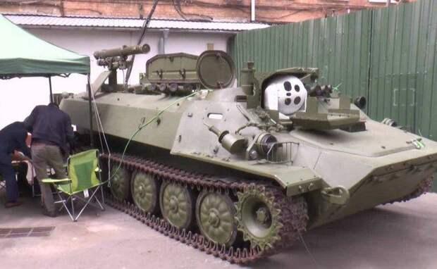 На Украине модернизировали самоходный противотанковый ракетный комплекс «Штурм-С»