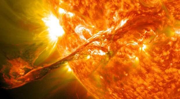 На Земле ожидается трехдневная магнитная буря из-за 17 вспышек на Солнце