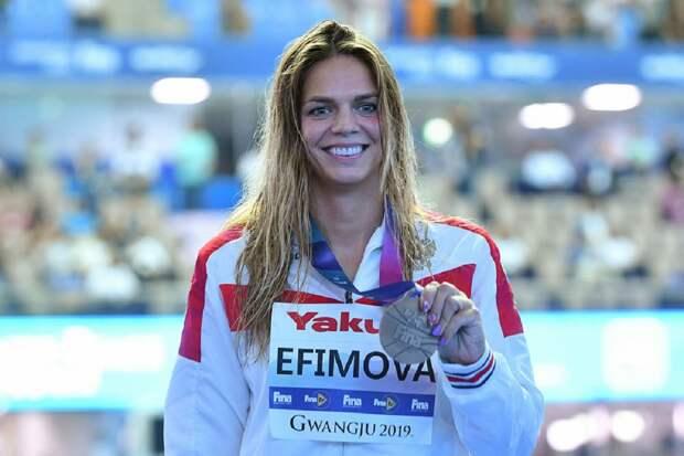 Россиянка Ефимова вышла в финал ЧЕ на дистанции 100 м брассом