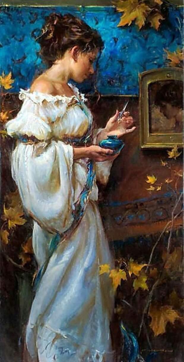 Очаровательные картины наполненные нежным трепетом любви