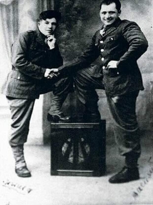 Порик с бойцом французского Сопротивления