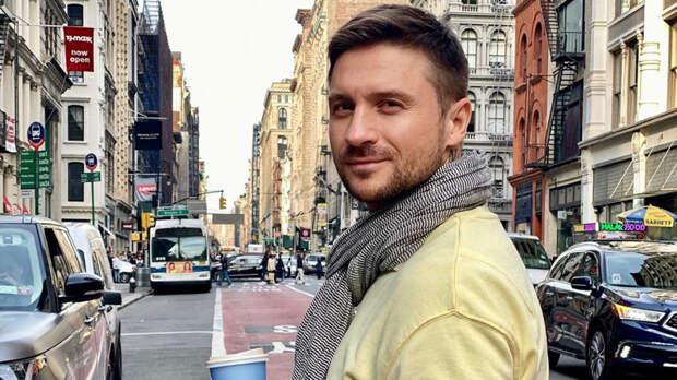Сергей Лазарев прибыл в Роттердам ради выступления на Евровидении