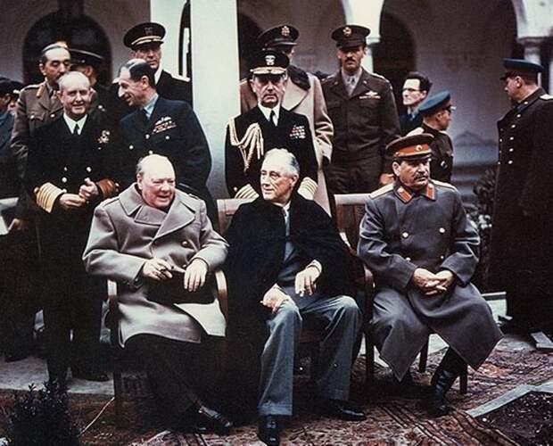 Цена победы. Ялтинская конференция 1945 года