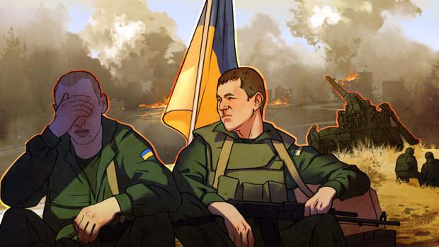 Военнослужащие ВСУ устроили драку из-за случайно сбитого беспилотника в Донбассе