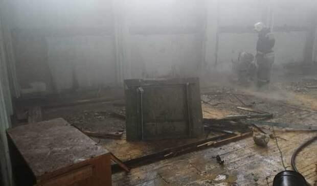 ВОмске найдут подрядчика для ремонта школы №75 после пожара