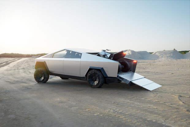 10 познавательных фактов про электромобиль Tesla Cybertruck