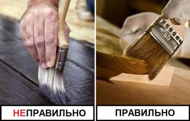 Как покрасить деревянный балкон и окна, чтобы краска держалась годами
