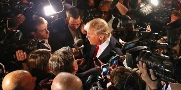 Сборище лжецов!: Трамп на закрытой встрече разнес американские СМИ