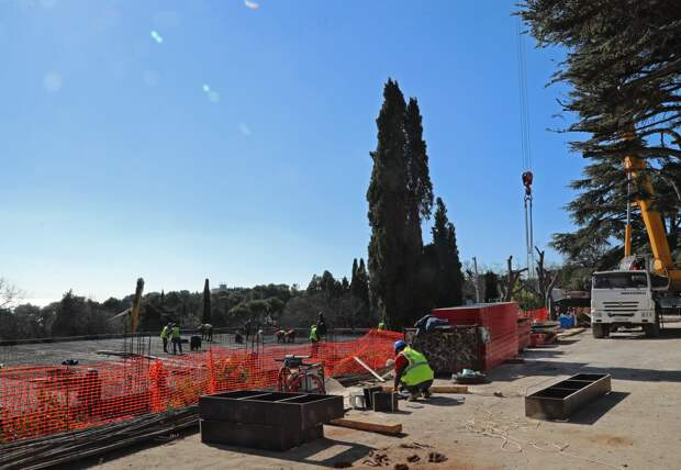 Крымчане пожаловались на продолжающееся строительство в Форосском парке
