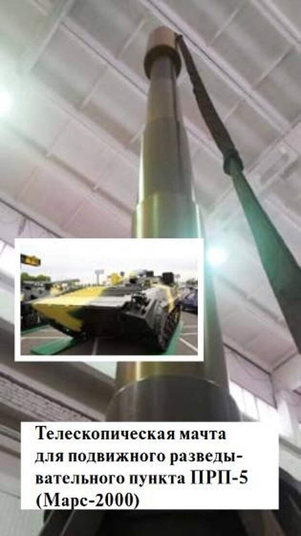 Новинка на параде: подвижный разведывательный пункт ПРП-5 «Марс-2000»