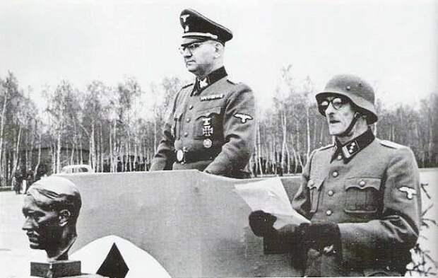 На Украине открыли мемориальную доску офицеру СС