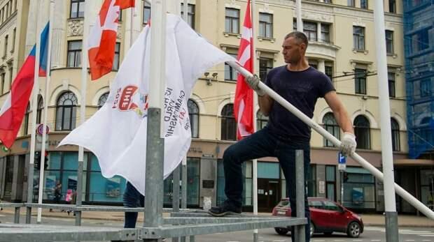 Боевые геи атакуют Белоруссию из Прибалтики