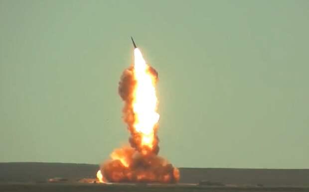 Россия испытала новую ракету ПРО на полигоне в Казахстане
