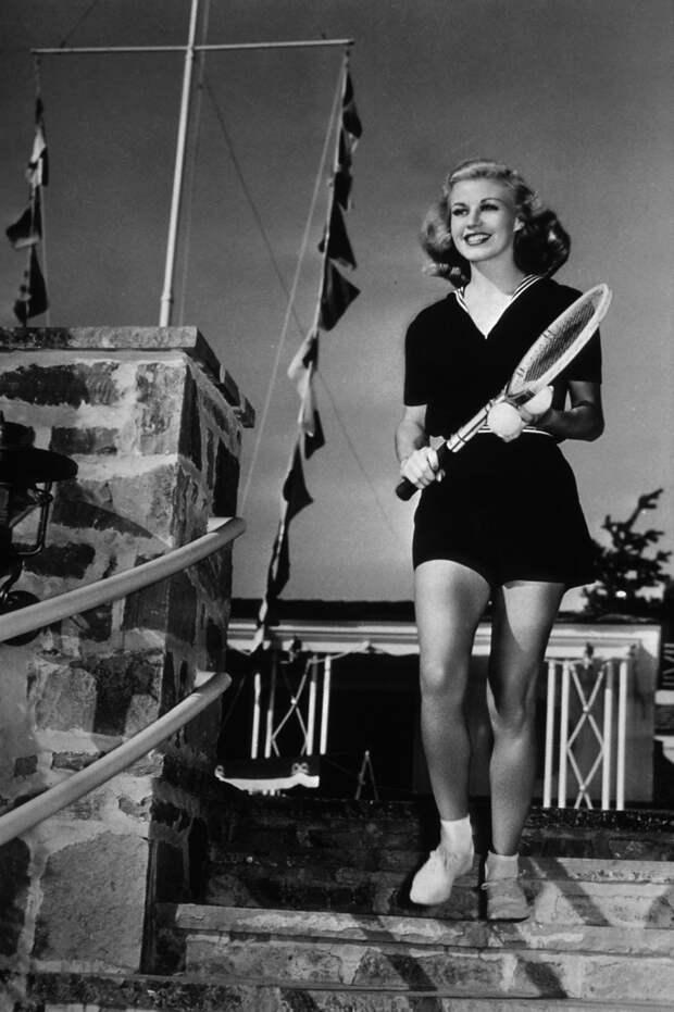 Как Джинджер играла в теннис.