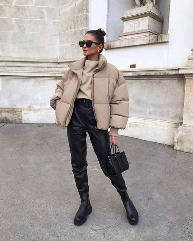 С чем носить джоггеры этой зимой: выбор зимних штанов