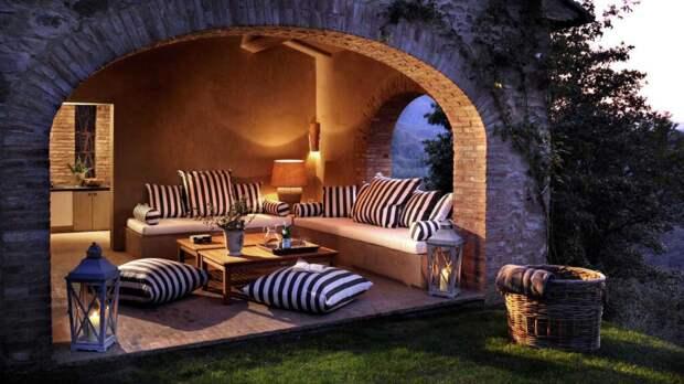 Загородный дом в итальянском стиле