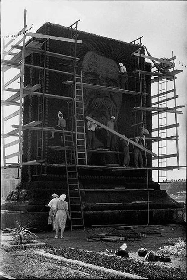 Cartier Bresson12 25 кадров Анри Картье Брессона о советской жизни в 1954 году