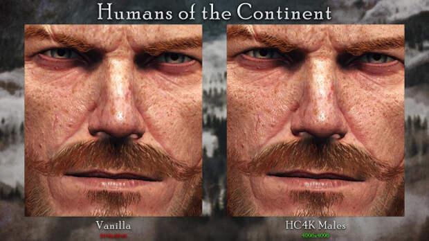 Новый мод для «Ведьмака 3» увеличил текстуры людей и гуманоидов до 4K