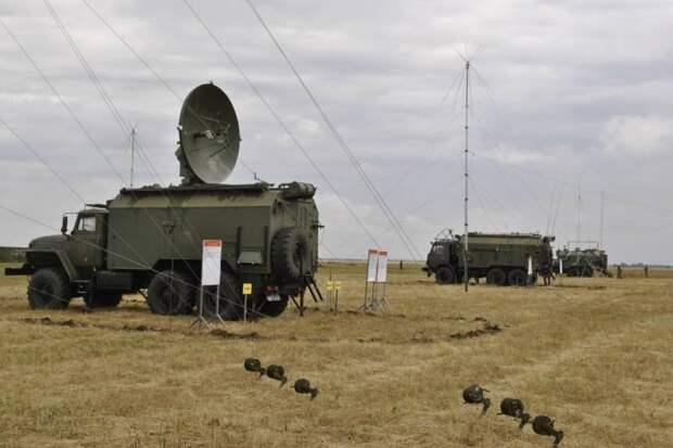 Комплексы РЭБ «Поле-21» в российской армии