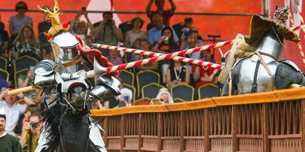 Копейный удар вполне может убить. |Фото: www.mos.ru.