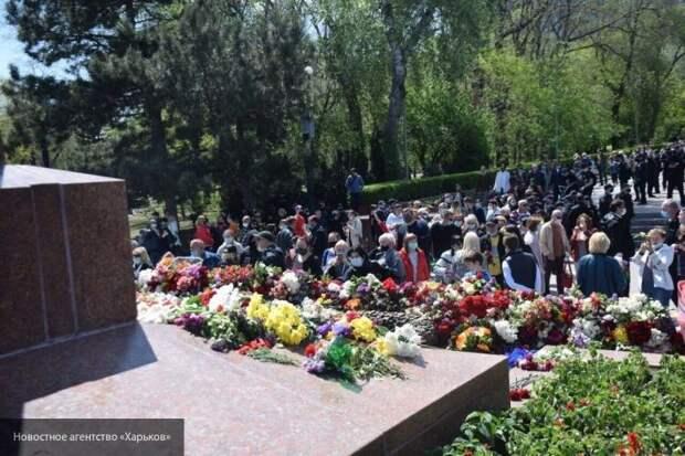 На Украине попытались сорвать празднование Дня Победы
