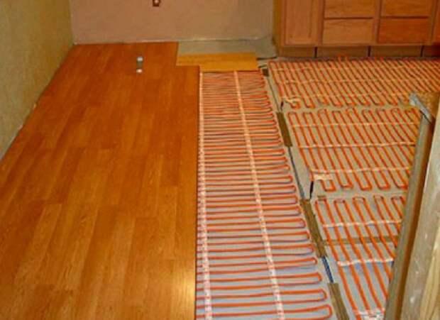 Теплый пол под ламинат - как выбрать?