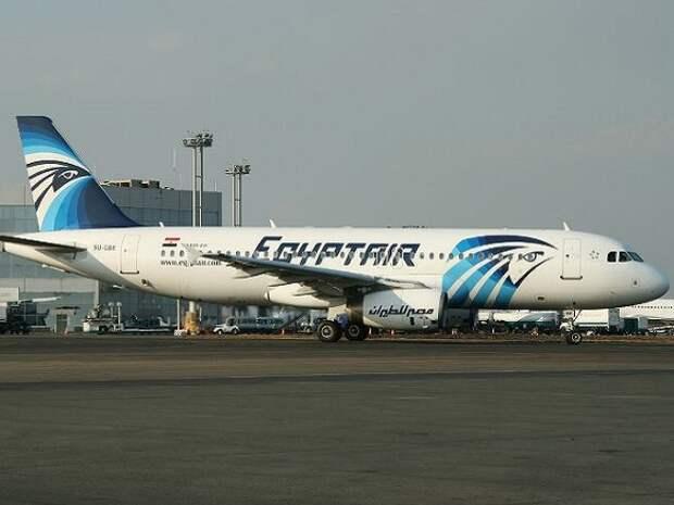 Самолет Каир— Москва подал сигнал тревоги и развернулся