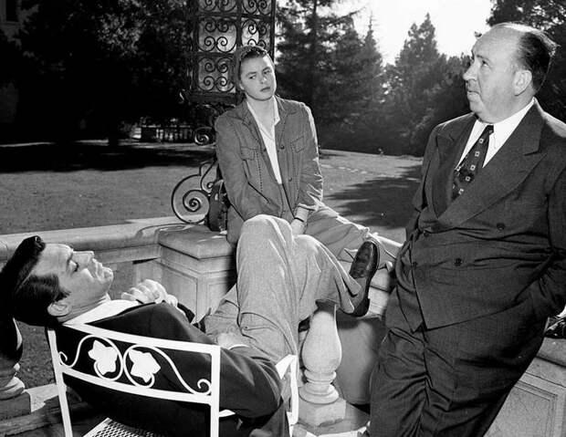 """Ингрид Бергман и Кэри Грант в фильме """"Дурная слава"""" 1946 год."""