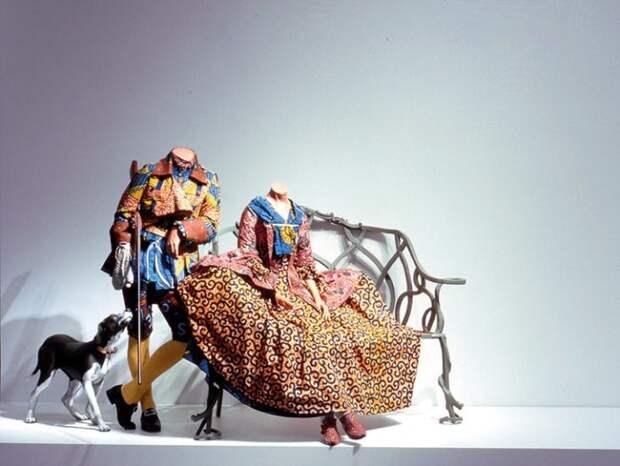 Мистер и миссис Эндрюс без голов, 1998 год. \ Фото: yandex.ua.