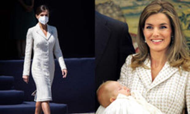 Королева экономии: Летиция надела платье, в котором выходила 15 лет назад