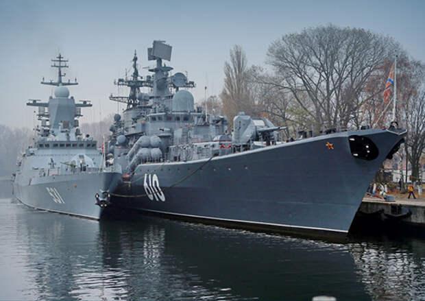 На Балтийском флоте в связи с ухудшением погодных условий вводится повышенная штормовая готовность