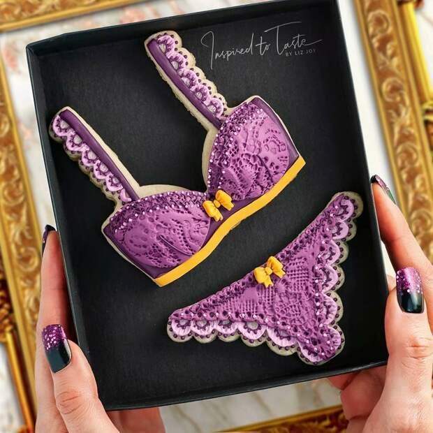 Ее печенье более стильное, чем одежда большинства из нас: 25 кулинарных изысков от «сладкого дизайнера» Лиз Джой, фото № 17