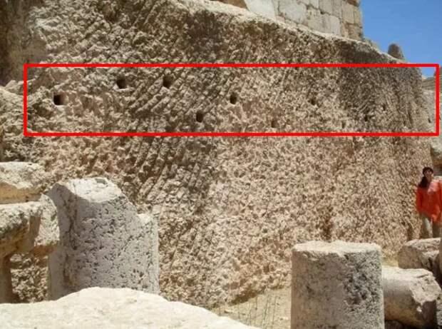 Для чего древние цивилизации делали выступы на огромных мегалитах в прошлом? - Мое мнение