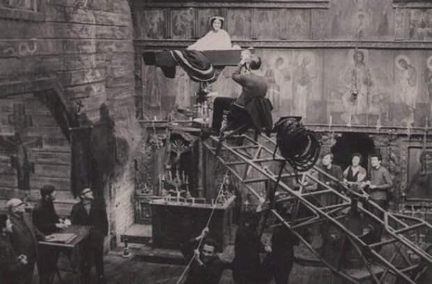 "Фото со съёмок фильма "" Вий"" 1967 года"