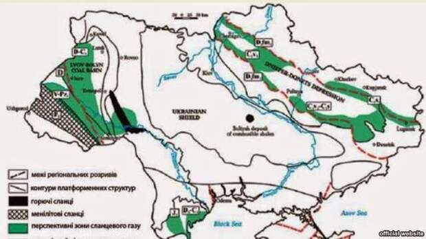 Сланцево-газовый триггер войны в Донбассе